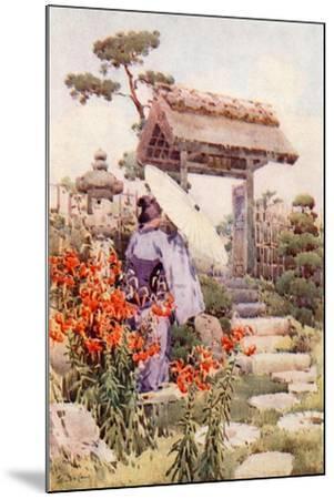 Tiger Lilies-Ella Du Cane-Mounted Giclee Print