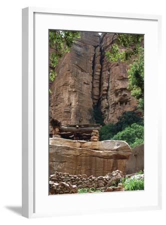 Mali, Cliff of Bandiagara--Framed Giclee Print