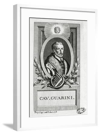 Portrait of Giovanni Battista Guarini--Framed Giclee Print