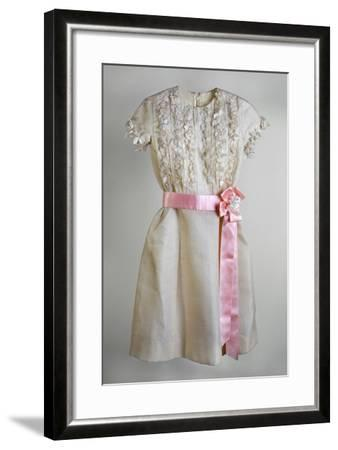Dress for a Bat Mitzvah, Rome, 1964--Framed Photographic Print