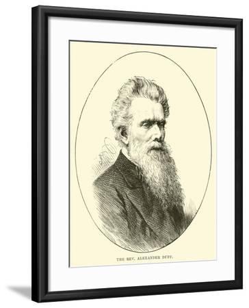 The Reverend Alexander Duff--Framed Giclee Print
