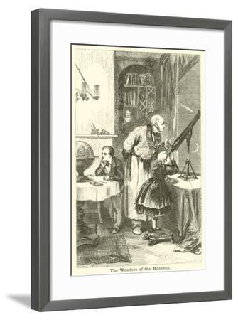 The Wonders of the Heavens--Framed Giclee Print