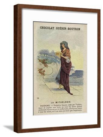 Pandora--Framed Giclee Print