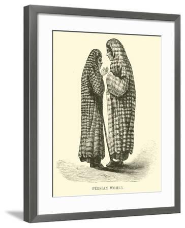 Persian Women--Framed Giclee Print