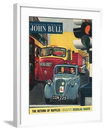 Front Cover of 'John Bull', April 1954--Framed Giclee Print