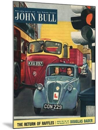 Front Cover of 'John Bull', April 1954--Mounted Giclee Print