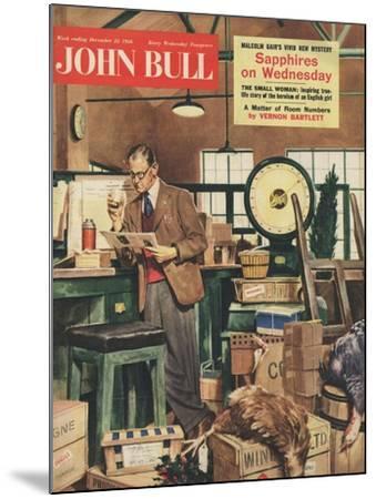 Front Cover of 'John Bull', December 1956--Mounted Giclee Print