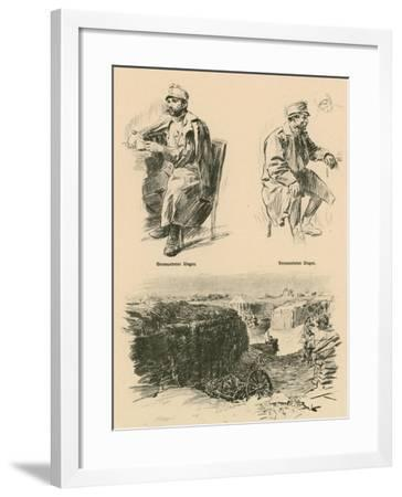 Wounded Hungarians, Shot Down in Russian Poland-Wilhelm Gause-Framed Giclee Print
