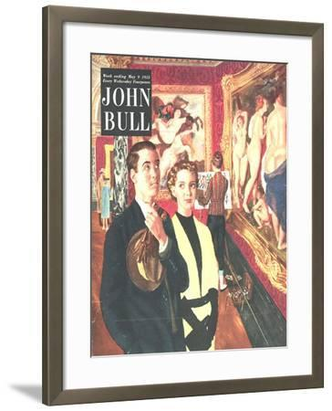 Front Cover of 'John Bull', May 1953--Framed Giclee Print