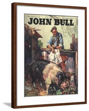 Front Cover of 'John Bull' May 1946--Framed Giclee Print