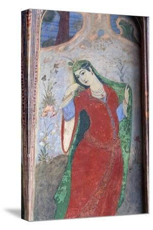 Iran, Esfahan, Meidan Emam--Stretched Canvas Print
