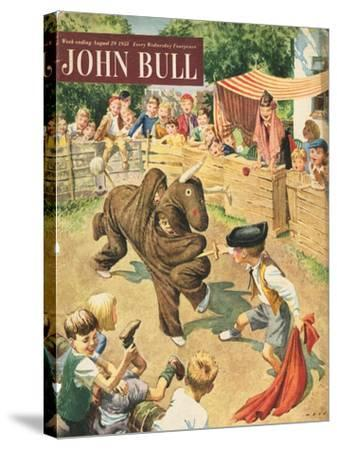 Front Cover of 'John Bull', August 1953--Stretched Canvas Print