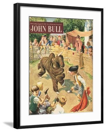 Front Cover of 'John Bull', August 1953--Framed Giclee Print