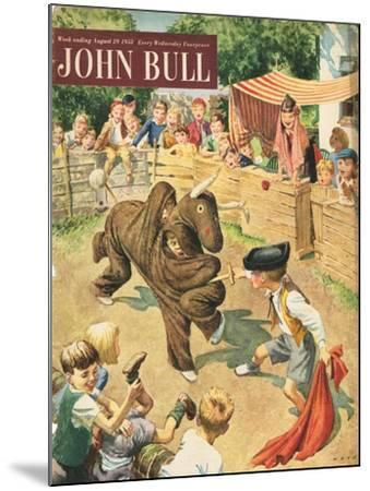 Front Cover of 'John Bull', August 1953--Mounted Giclee Print