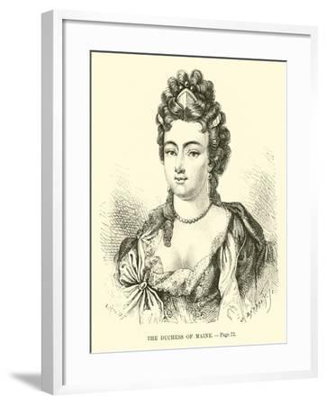 The Duchess of Maine--Framed Giclee Print