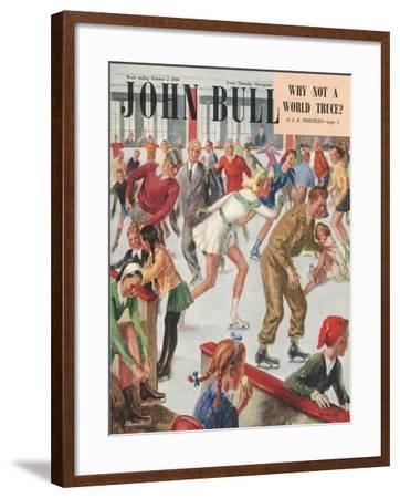 Front Cover of 'John Bull', October 1948--Framed Giclee Print