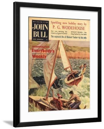 Front Cover of 'John Bull', May 1959--Framed Giclee Print