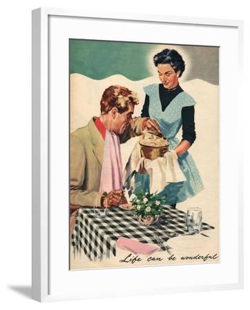 Magazine Illustration, 1954--Framed Giclee Print