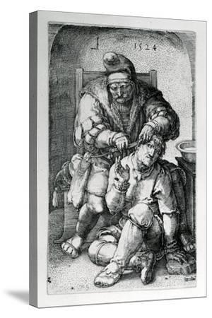 The Surgeon, 1524-Lucas van Leyden-Stretched Canvas Print