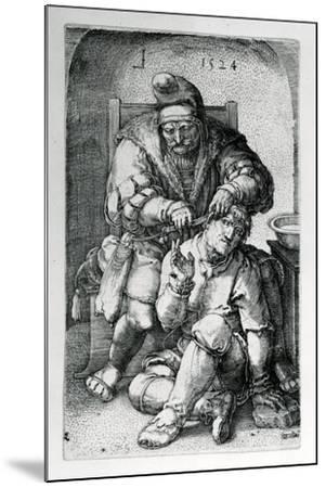 The Surgeon, 1524-Lucas van Leyden-Mounted Giclee Print