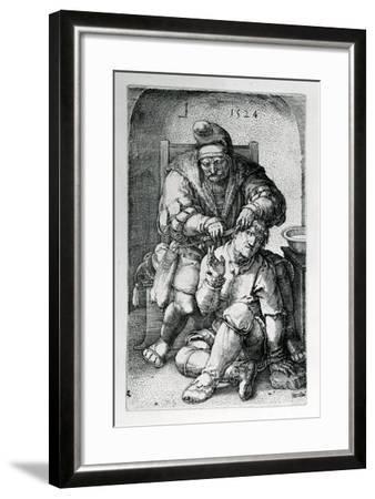 The Surgeon, 1524-Lucas van Leyden-Framed Giclee Print