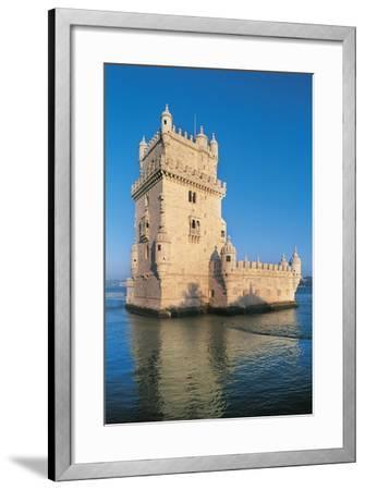 Portugal, Lisbon, Belem Tower--Framed Giclee Print