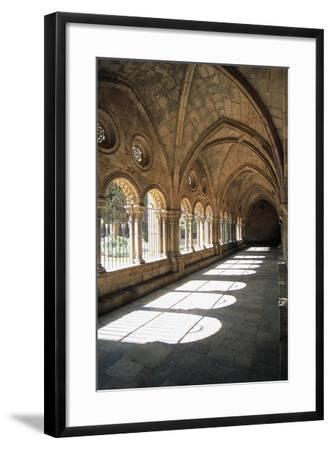 Cloister, Tarragona Cathedral--Framed Giclee Print