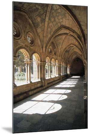 Cloister, Tarragona Cathedral--Mounted Giclee Print