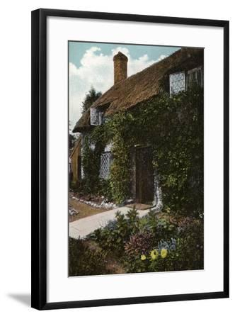 Little Jane's Cottage, Brading--Framed Photographic Print