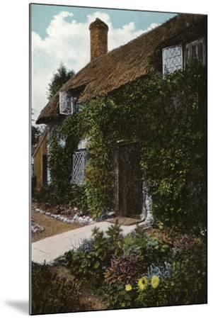 Little Jane's Cottage, Brading--Mounted Photographic Print