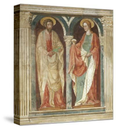 Theory of Saints, Fresco-Paolo Uccello-Stretched Canvas Print