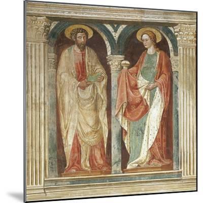 Theory of Saints, Fresco-Paolo Uccello-Mounted Giclee Print