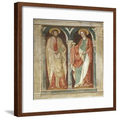 Theory of Saints, Fresco-Paolo Uccello-Framed Giclee Print