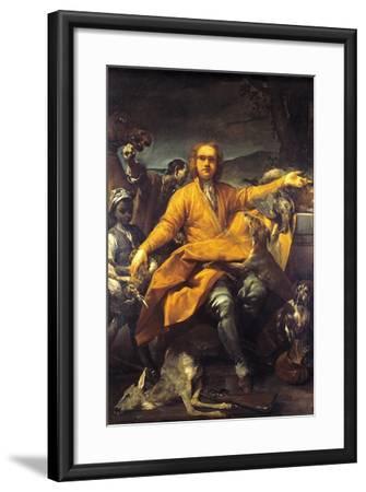 Portrait of Hunter-Giuseppe Maria Crespi-Framed Giclee Print