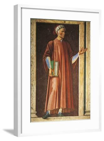 Portrait of Dante Alighieri--Framed Giclee Print