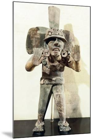 Anthropomorphic Clay Funerary Urn--Mounted Giclee Print