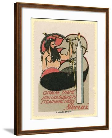 Perun Candles--Framed Giclee Print