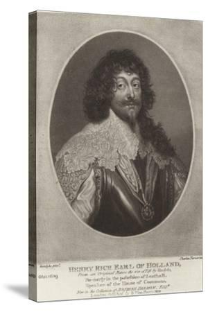 Henry Rich, Earl of Holland-Sir Anthony Van Dyck-Stretched Canvas Print