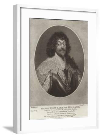 Henry Rich, Earl of Holland-Sir Anthony Van Dyck-Framed Giclee Print