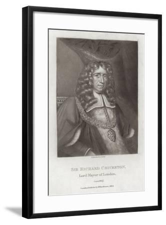 Sir Richard Chiverton--Framed Giclee Print