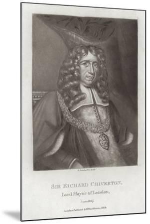 Sir Richard Chiverton--Mounted Giclee Print