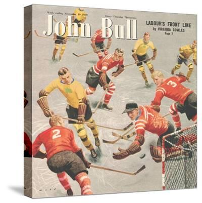 Front Cover of 'John Bull', November 1949--Stretched Canvas Print