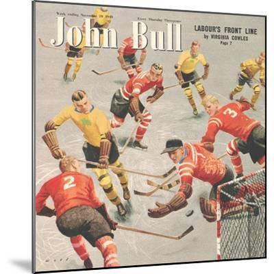 Front Cover of 'John Bull', November 1949--Mounted Giclee Print