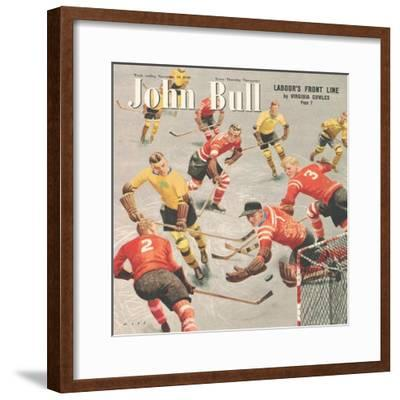 Front Cover of 'John Bull', November 1949--Framed Giclee Print