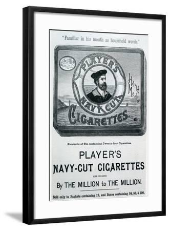 Player's Navy Cut Cigarettes, 20th Century--Framed Giclee Print