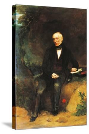 Portrait of William Wordsworth--Stretched Canvas Print