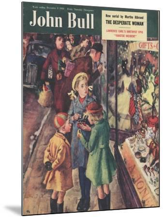 Front Cover of 'John Bull', December 1950--Mounted Giclee Print