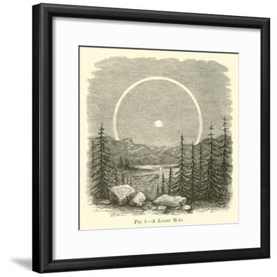 A Lunar Halo--Framed Giclee Print