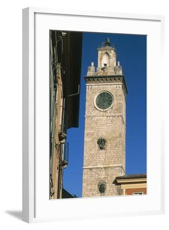 Civic Tower or Town Hall Tower--Framed Giclee Print