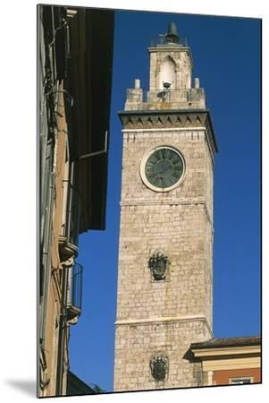 Civic Tower or Town Hall Tower--Mounted Giclee Print